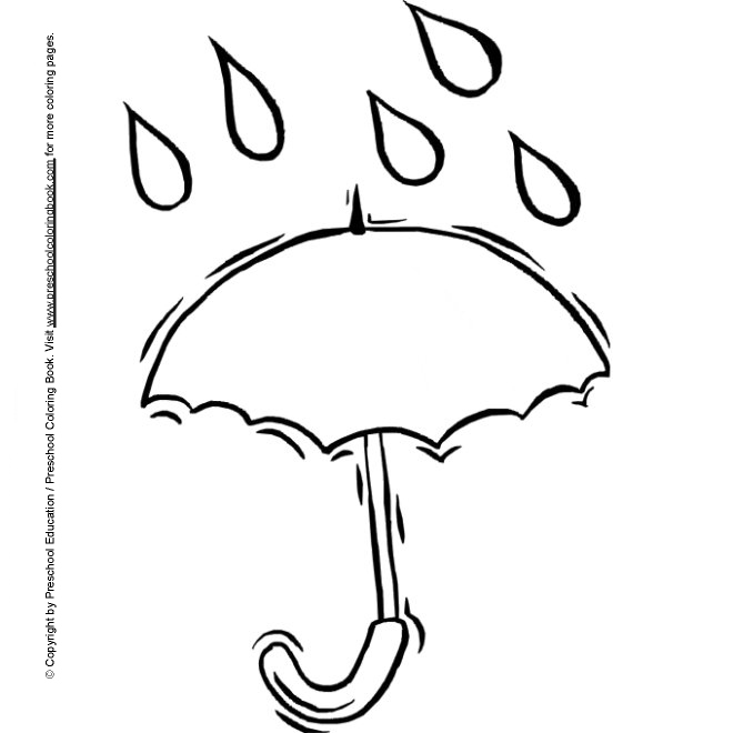 spring kindergarten coloring pages - photo#25