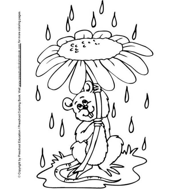 spring kindergarten coloring pages - photo#4