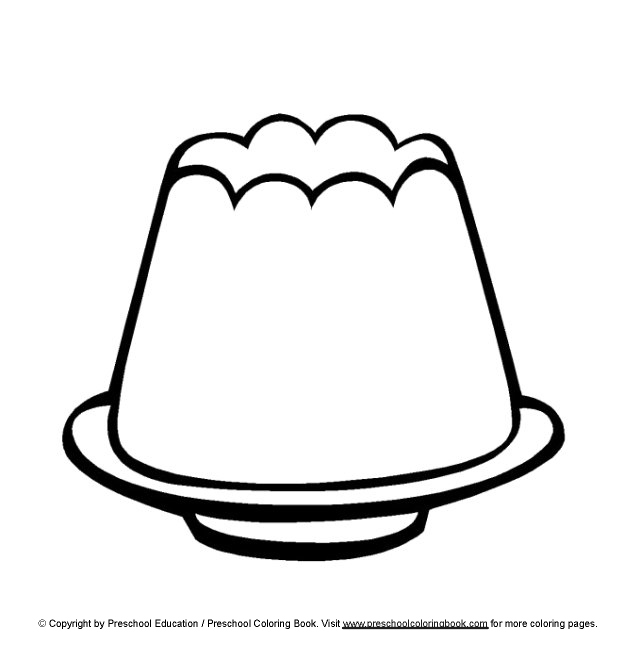 Jello Coloring Pages Jello Colouring Pages