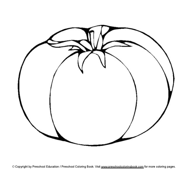 previewTomato Line Drawing